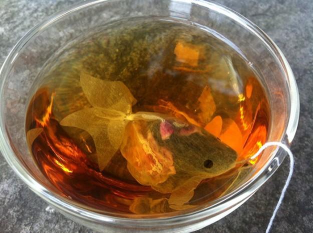 金魚茶包1